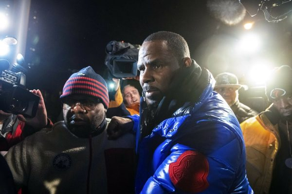 R. Kelly surrenders to authorities at Chicago