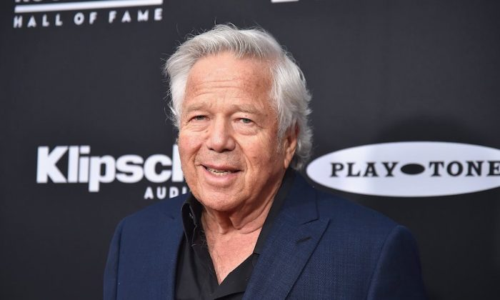 Kraft attends the 2018 Rock & Roll Hall of Fame Induction Ceremony at Cleveland's Public Auditorium in April. (CNN)