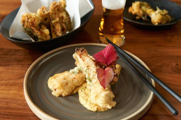 The popular Tori Tempura chicken at Izakaya Sushi Ran is marinated in mirin and koji. (Courtesy of Izakaya Sushi Ran)