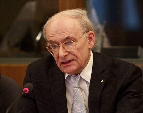 Canadian human rights lawyer David Matas