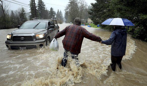 California river rises 3