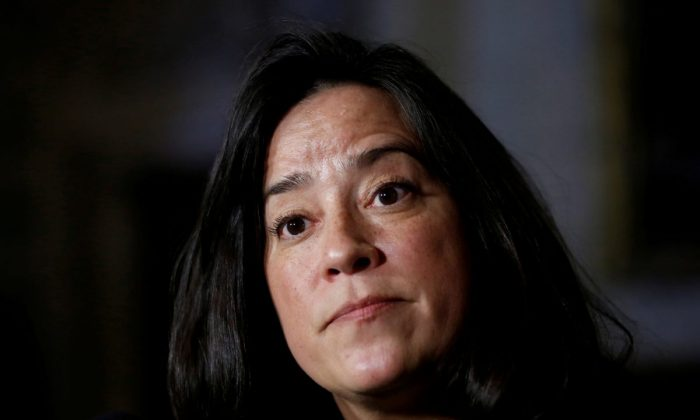 Former Canadian veterans affairs and justice minister Jody Wilson-Raybould in this file photo. (Chris Wattie/Reuters)