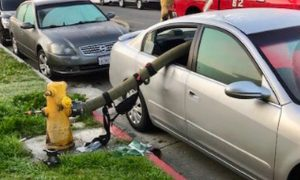California Fire Department Posts Photos of What Happens When People Park in Front of a Hydrant
