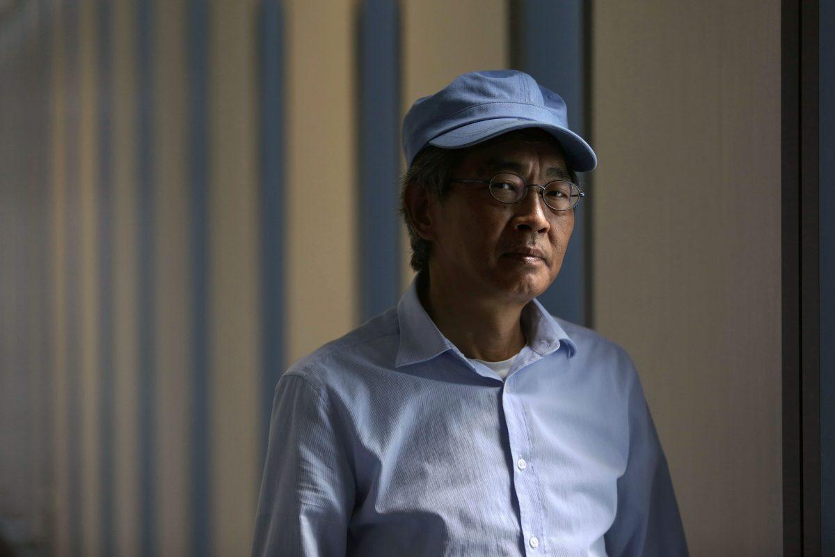 Hong Kong bookseller Lam Wing-Kee