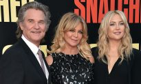 Goldie Hawn and Kurt Russell Adoring Their Newest Grandchild is Cuteness Overload