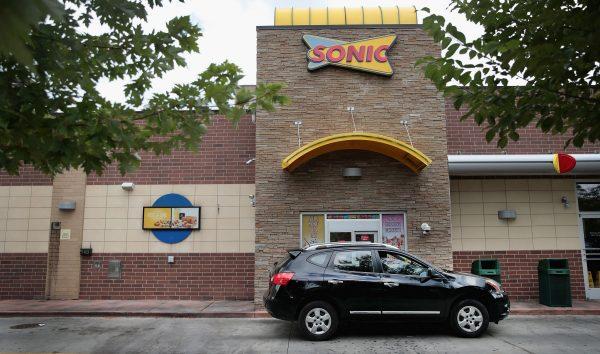 Sonic restaurant drive-thru