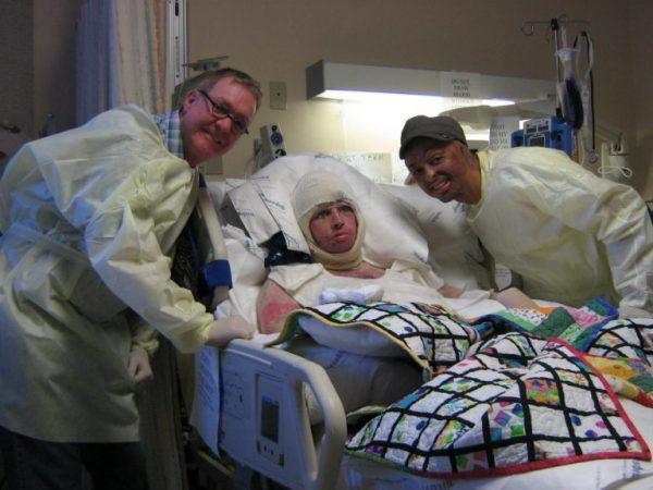 Tavera in hospital