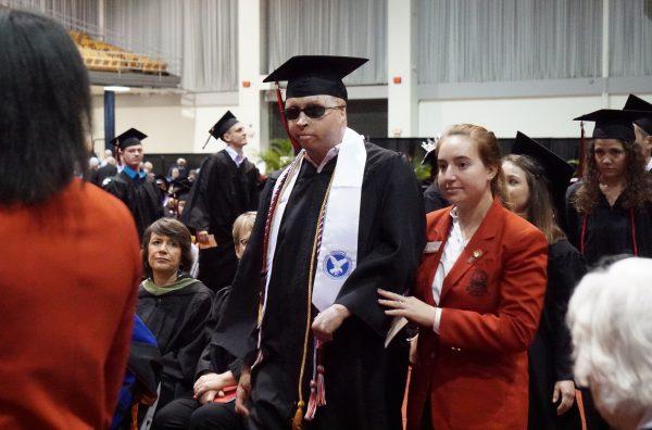 Tavera graduating