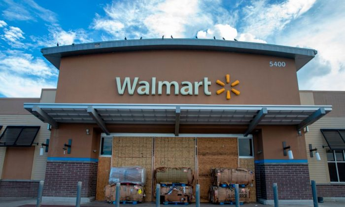 A stock photo of a Walmart store. (Alex Edelman/AFP/Getty Images)