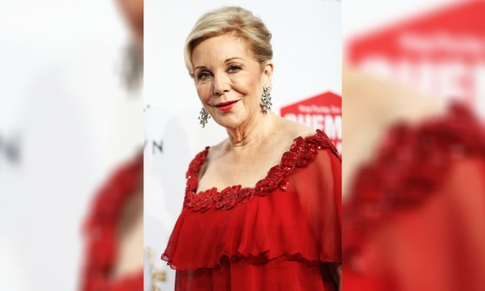 Ita Buttrose arrives at the 59th Annual Logie Awards at Crown Palladium in Melbourne, Australia, on Apr. 23, 2017. (Ryan Pierse/Getty Images)