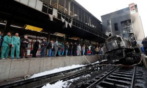 At Least 20 Killed in Crash and Fire at Cairo Train Station