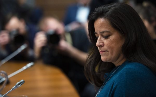 Jody Wilson-Raybould appears at the House of Commons Justice Committee on Parliament Hill in Ottawa on Feb. 27, 2019. (Sean Kilpatrick/The Canadian Press)