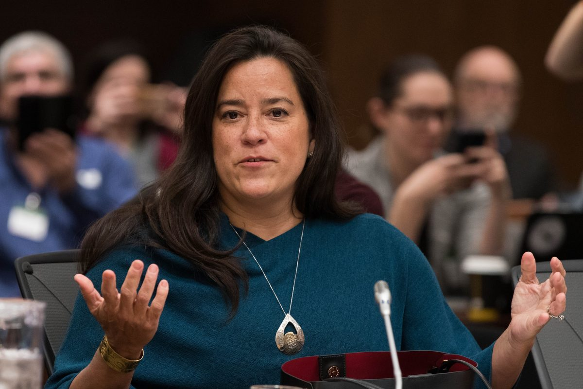 Former Canadian Justice Minister Jody Wilson-Raybould