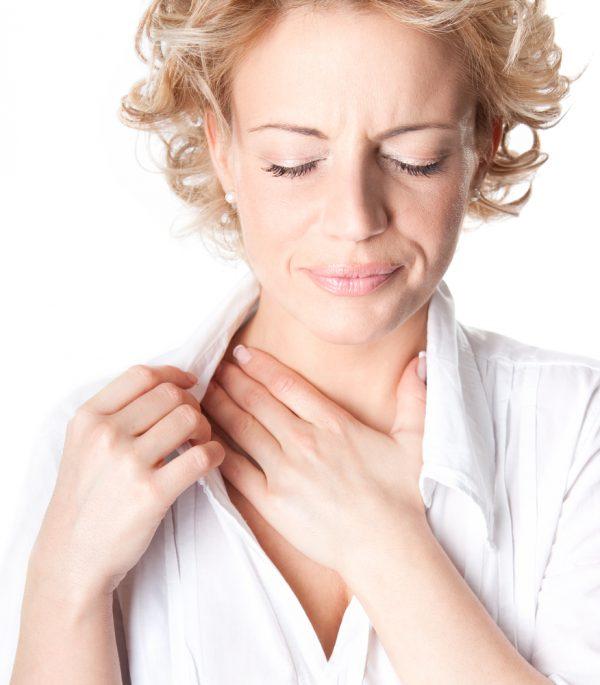 Constant chest pain