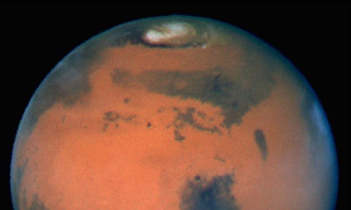 A photo of Mars taken on March 10, 1997. (Nasa/Getty Images)