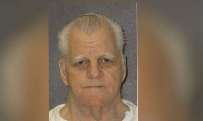Inmate Billie Cobble. The 70-year-old who slayed three people—including the parents of his estranged wife—was administered a single dose of pentobarbital in Texas' death chamber on Feb. 28. (Texas Department of Criminal Justice via AP)