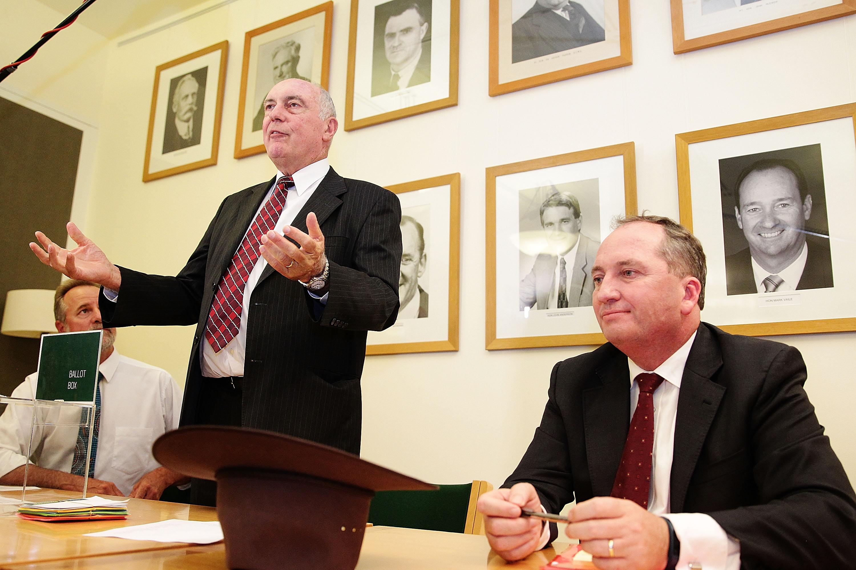 Nigel Scullion and Barnaby Joyce