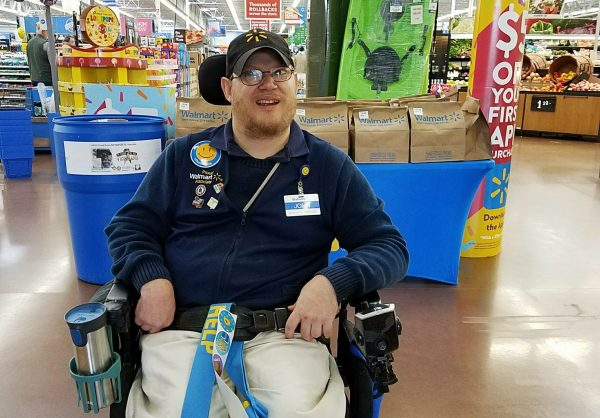 Walmart Greeter 1