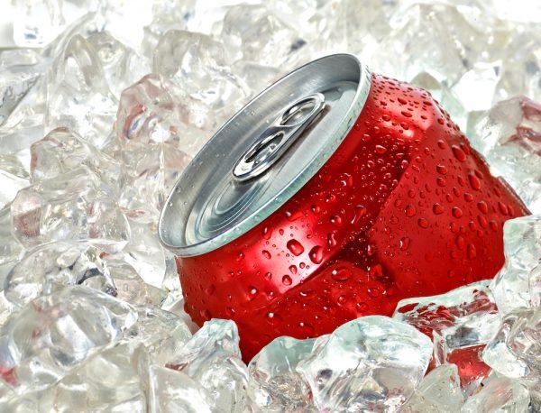 coke in the ice