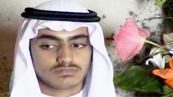 Hamza bin Laden is pictured