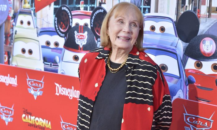 Katherine Helmond poses in a stock photo. (Lisa Rose/Disney Parks via Getty Images)