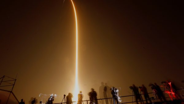 SpaceX dragon capsule launched 5