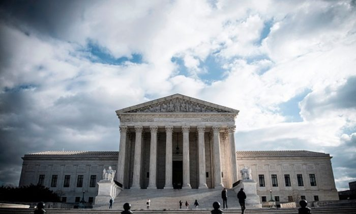 The Supreme Court Building is seen on  in Washington on Dec. 24, 2018. (Eric Baradat/AFP/Getty Images)