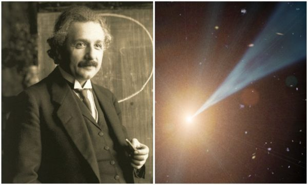 Albert Einstein and Light