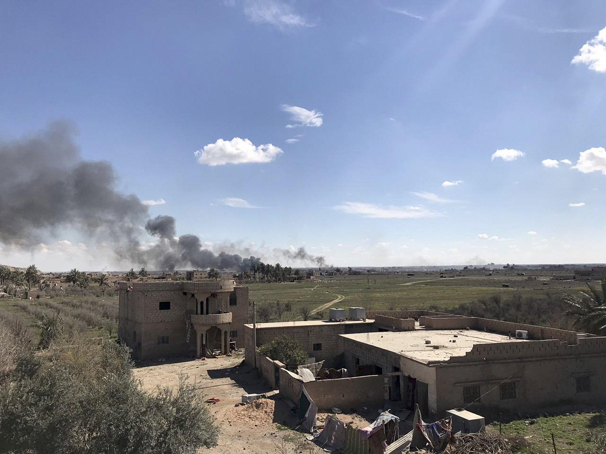 ISIS last piece of territory
