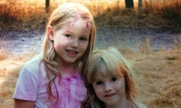 Caroline Carrico, age 5, and Leia Carrico, age 8, were last seen at about 2:30 p.m. on March 1, 2019, outside of their home in Benbow, Calif., officials said. (Humboldt County Sheriff's Office)