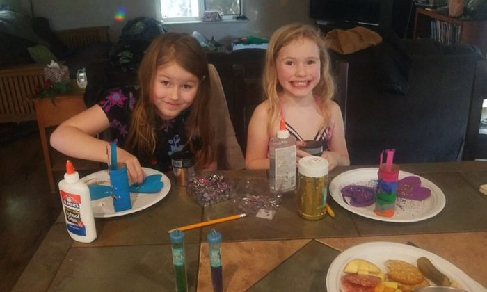 The two little girls are believed to have walked away from their home on Twin Trees Rd in Benbow, Cali., on March 1, 2019. (Humboldt County Sheriff's Office)