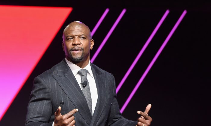 Terry Crews attends The 2019 MAKERS Conference at Monarch Beach Resort in Dana Point, California on Feb. 8, 2019. (Getty Images)