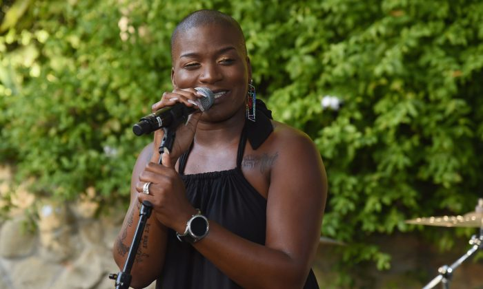 Janice Freeman performs at The COTA Awards (Celebration of the Arts) on September 15, 2018 in Malibu, California.  (Photo by Michael Kovac/Getty Images for COTA)
