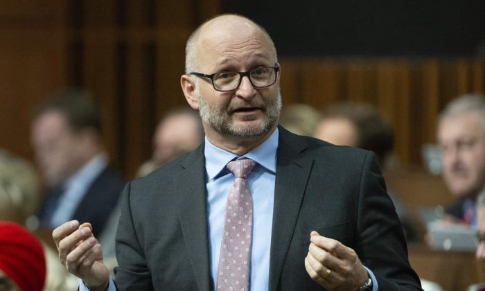 Federal Justice Minister David Lametti. (The Canadian Press)
