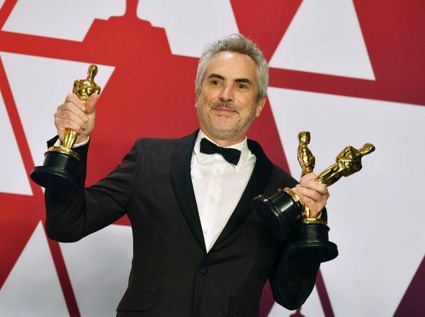 Alfonso Cuaron Oscars Roma