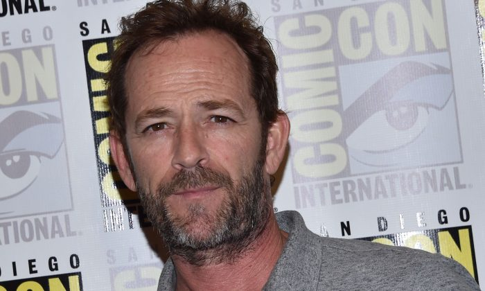 "Actor Luke Perry arrives for the press line of ""Riverdale"" at Comic Con in San Diego, July 21, 2018. (Chris Delmas/AFP/Getty Images)"