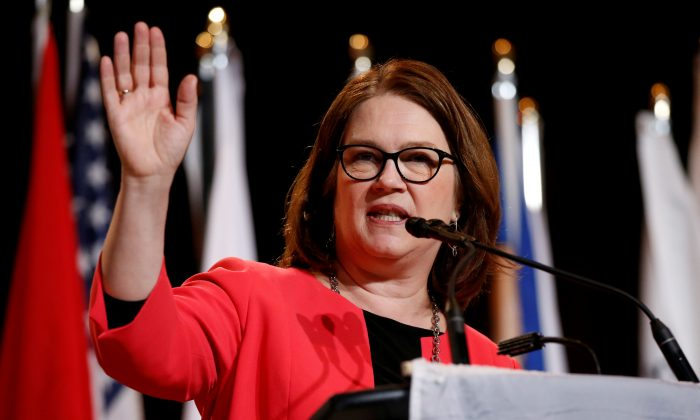 Former cabinet minister Jane Philpott.  (Reuters/Chris Wattie)