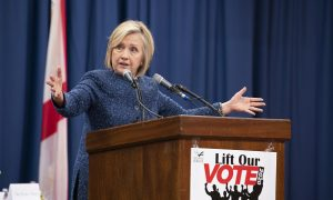 Hillary Clinton Now Claims She Lost in 2016 Because of Voter Suppression