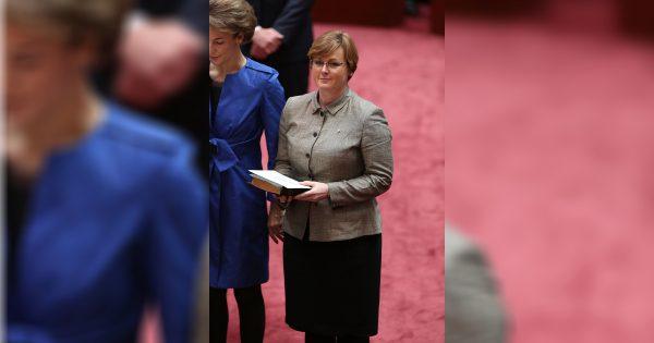 Senator for Western Australia Linda Reynolds in Canberra