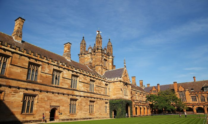 A general view of Sydney University campus on April 6, 2016 in Sydney, Australia. Federal Education Minister Simon Birmingham confirming the Government plans to cut university funding in addition to implementing the university deregulation plan which was put forward in the 2014 budget. (Brendon Thorne/Getty Images)
