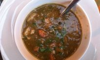 Meat and Seafood-Rich Gumbo Makes Way for Green Gumbo for  Mardi Gras and Lent