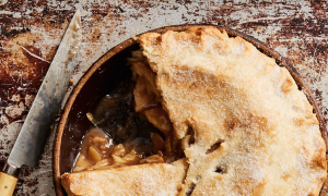 Apple Pie With an All-Lard Crust
