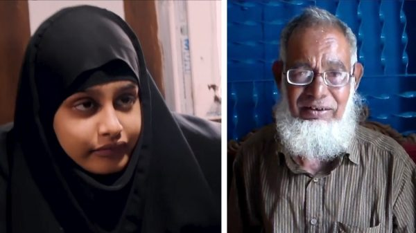 ISIS bride Shamima Begum and her father