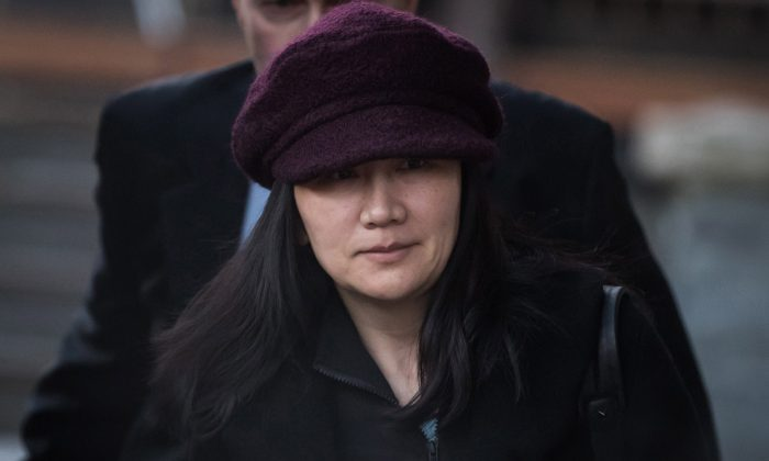 Huawei Chief Financial Officer Meng Wanzhou appears in Vancouver, Canada, on Jan. 29, 2019. (The Canadian Press/Darryl Dyck)