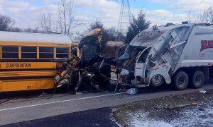 School Bus Crash Injures 20, 1 Student Seriously Hurt