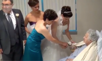 Selfless Bride Makes Sure Hospitalized Grandma Doesn't Miss Wedding Day