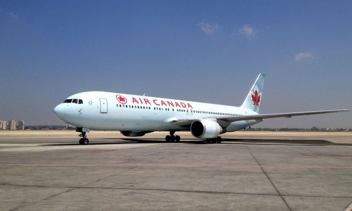 Stock image of a Air Canada plane. (Pixabay)