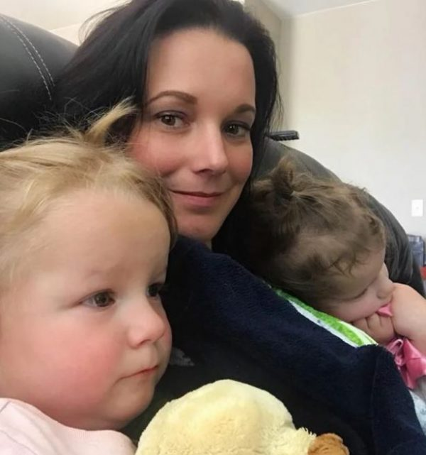 Shanann Watts and her two daughters in an undated file photo.