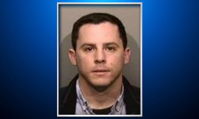 Zachary Greenberg, 28, has been charged with three felonies relating to last month's attack against a conservative activist at the University of California at Berkeley. (Alameda County Sheriff's Office via CBS SF)
