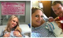 To Fulfill Her Dream of Becoming a Mother, This Woman Stops Breast Cancer Treatment to Give Birth to Baby Girl
